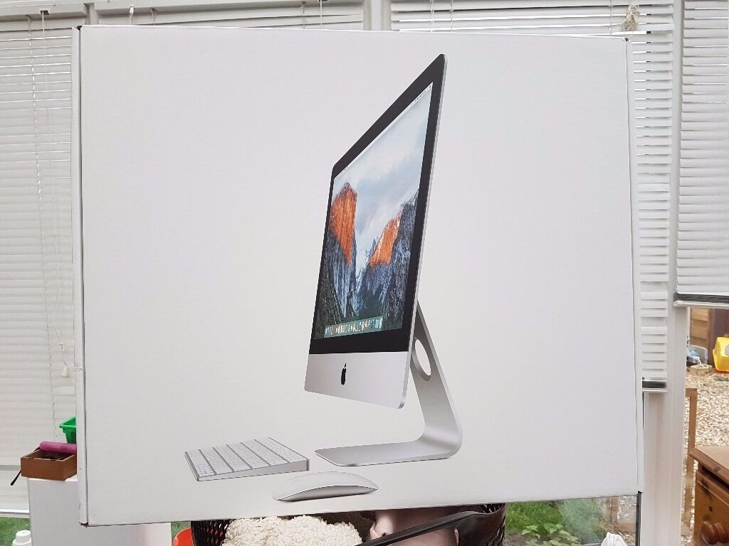 2015 Apple iMac Boxed as Newin York, North YorkshireGumtree - Apple iMac 2015 Only a couple of weeks old Still has rest of Apple warranty Like new and boxed Collection York Good saving on new