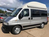Peugeot monarch high top camper! Only 26k miles with air conditioning!