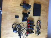 PS2 Slim with 10 games