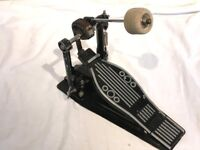 Wokingham Drum Sales - Bass Drum Pedal Twin Chain With Bass Plate