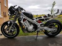 Cbr 600 track bike with v5