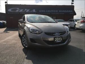 2013 Hyundai Elantra GL | 1 OWNER | NO ACCIDENTS | LOW MILEAGE .
