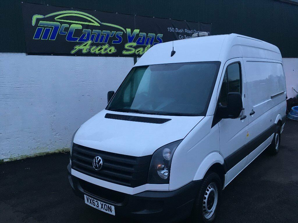 2013 VW CRAFTER MWB 1 OWNER FROM NEW FINANCE AVAILABLE