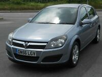 "VAUXHALL ASTRA 1.6 16V CLUB TWINPORT, 5 DOOR, 2007 '56 REG, 85'000 MILES,16"" ALLOYS, A/C, CD, VGC"