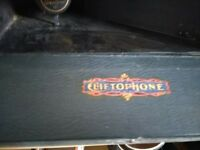 Lovely vintage record player. Origional Brunswick Cliftophone.