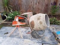Belle 240v cement mixer