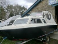 MICROPLUS 571 EXPLORA 3 BERTH CRUIER WITH 5HP HONDA 4 STROKE