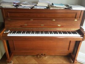 Reid Sohn Walnut Upright Piano - Good Condition