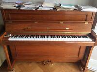 Reid Sohn Walnut Upright Piano - Good Condition