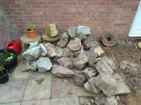Garden Stones for rockery / landscaping