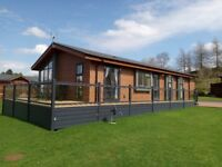 Luxury 2 bedroom holiday lodge for sale in the Scottish Borders