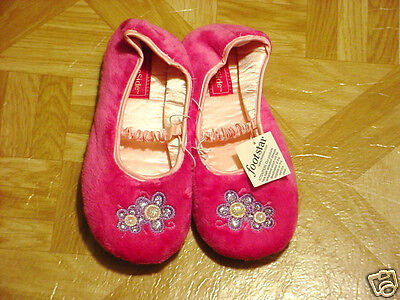 FireSide Young Girls Hot Pink/Purple Slippers Sizes 11, 3, - Hot Young Teen Girls