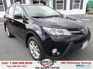 2015 Toyota RAV4 Limited with Leather and Nav $237.04 BI WEEKLY!