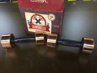 GOLD'S GYM HERITAGE 3KG DUMBBELL SET - New