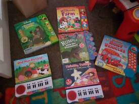 Musical and talking books