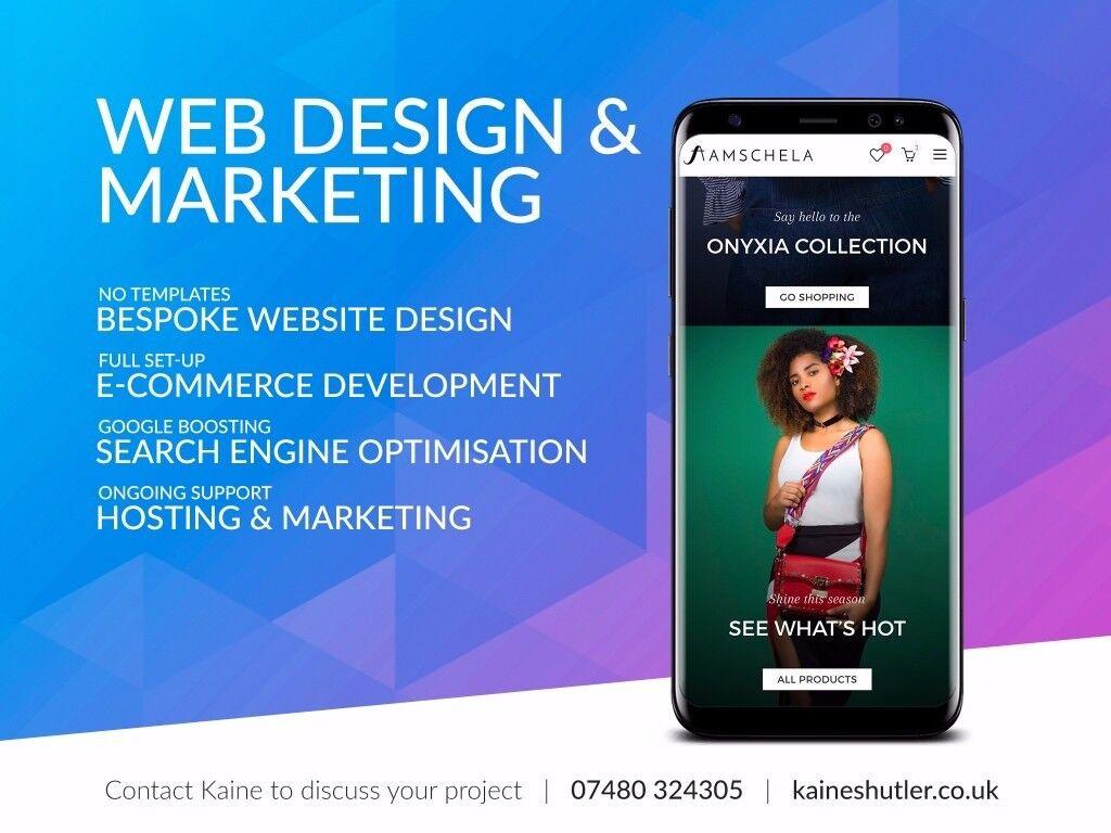Edinburgh web design, development and SEO from £145 - UK website designer & developer