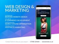 Edinburgh web design, development and SEO from £145 - UK website designer & developer