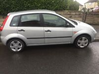 Ford Fiesta silver hatch back 1.4 engine has 5 doors MOT and service until September low mileage