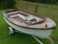 Dinghy Boat and Trailer