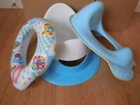 toilet training seat, potty and padded toilet training seat