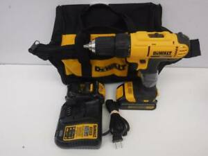 Dewalt Cordless Drill Set. We Sell Used Tools. 106102 CH718404