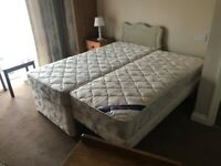 Kozee single bed with pull out bed