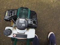 2 stroke Petrol Rotavator.