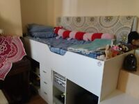 Cabin Midi Single Bed - used less than 5 months - 175£ OBO