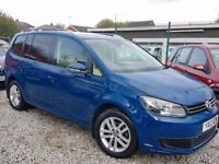 12 PLATE VW TOURAN 1.6 TDI * DSG AUTO * ONLY 40K MILEAGE * PX WELCOME