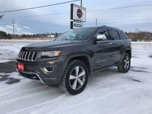 2015 Jeep Grand Cherokee OVERLAND 4WD 1-OWNER TRADE-IN!!!