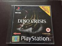 PlayStation 1 Dino crisis boxed game. Ps1 retro gaming