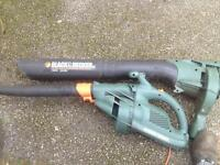 Black and Decker GW250 Garden Blower and vac
