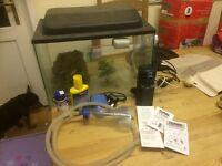 Cold water aquarium starter kit