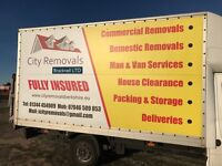 CHEAP MAN and VAN, DELIVERY, REMOVALS, HOUSE CLEARANCE