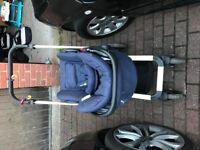 Baby car seat/Pram/cot 3 piece