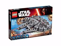 LEGO Star Wars 75105 Millennium Falcon Factory Sealed