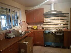 CHERRY KITCHEN FOR SALE, INCL SINK - Very good condition