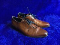 Fluchos CESAR size 8 (EUR 41) brown leather dress shoes