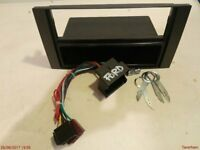 Double DIN adaptor for Ford CMAX - with removal tools and ISO harness