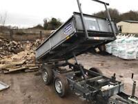 Iforwilliams tipper trailer twin axle