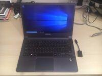 Super slim Samsung Series 9 13 inch PC Laptop, Windows 10, Core i5, 256GB SSD