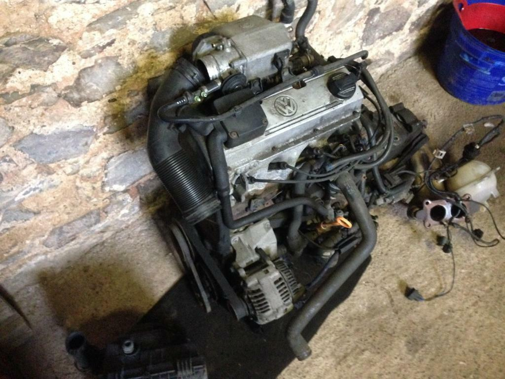 Volkswagen Golf MK3 GTi Engine AGG Also Gearbox