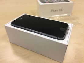 ** GRADE A ** Boxed Space Grey Apple iPhone 5S 64GB Factory Unlocked Mobile Phone + Warranty