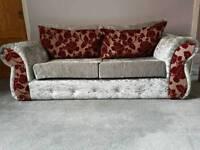 Crushed Velvet Sofa's