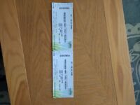 FOR SALE-MANIC STREET PREACHERS AT GLASGOW HYDRO-WEDNESDAY 25TH APRIL