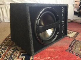 Phoenix Gold active subwoofer 160W 12inch - In-Car Subwoofer/Audio