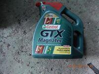 Castrol GTX Magnatec Synthetic oil 4.5L