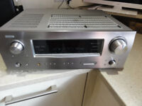 DENON AVR-1908 7.1 Surround Home Cinema Receiver With R-Ctr and Calibr-Microp