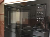 Bosch integrated microwave black
