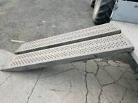 Ifor williams 6ft & 8ft trailer loading ramps